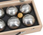 OBUT K8, 8 boule balls MADE IN FRANCE, gift idea- wooden case with engraving Image 3