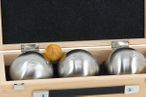 OBUT K3 Side, Boules Set, in wooden box, ideal for Present Image 2
