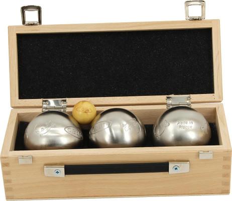 OBUT K3 Salamandre Design, Boule - Kugel Set im Holzkoffer