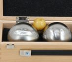 OBUT K3 Salamandre, Boules Set, in wooden box with engraving, idea for Present Image 3