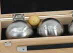 OBUT K3 Tatou, Boules Set, in wooden box with engraving, idea for Present Image 3