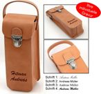 Boule leather bag, premium product made of genuine leather with engraving, gift idea