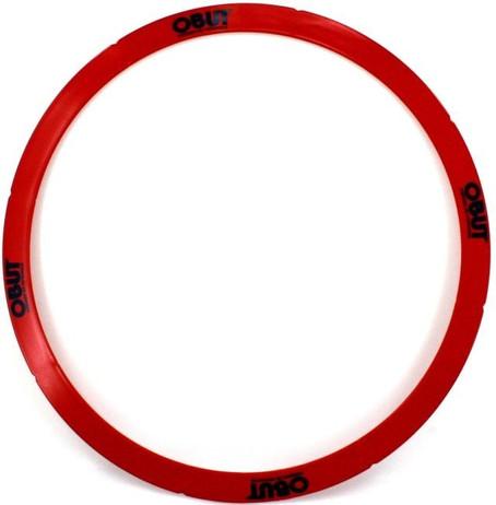 Rond de Pétanque 50cm rot, starrer Boule Abwurfkreis