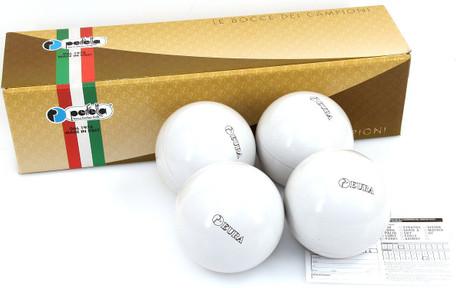 Perfetta EURA BIANCO Competition Boccia bowles (Set of 4)