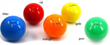 One Perfetta EURA Competition Boccia bowl, different colours to create own set