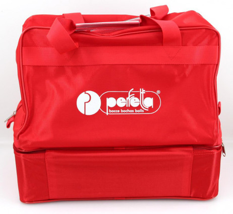 Perfetta Pro 8 Nylon bag red for 8 bowls (up to 110mm) (without bowls)