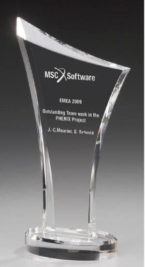 Number One Award - acrylic glass Trophy
