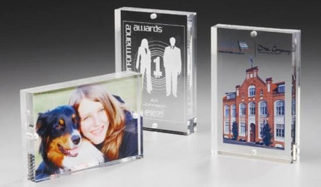 Square Plate Award - Acryl Glas Trophäe