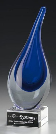 Venezia Award - Artglass Trophäe - Glas Trophäe