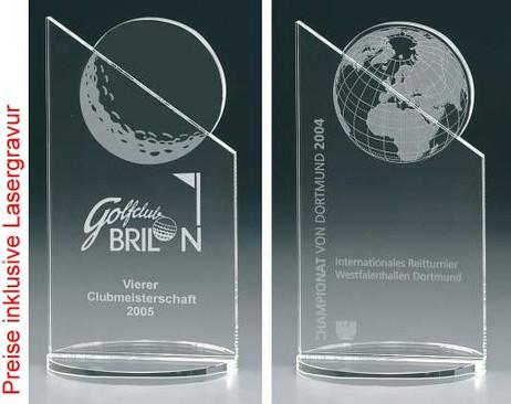 Moon Peak - Crystal glass - trophy