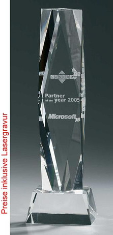 Crystal President Award - Crystal glass - trophy