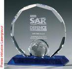 Globe Circle Award, Kristall Glas - Trophäe