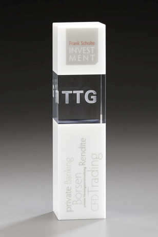 Arktic Cubix - Crystal glass - trophy