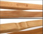 BBQ tongs Zetzsche 30 cm long made of beech - made in Germany with engraving