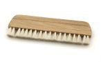Beech wood record brush and goat hair 14cm vinyl brush