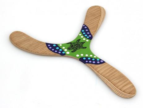 Wallaby Warramba - Wunderschöner handgemachter Bumerang aus Birkenholz