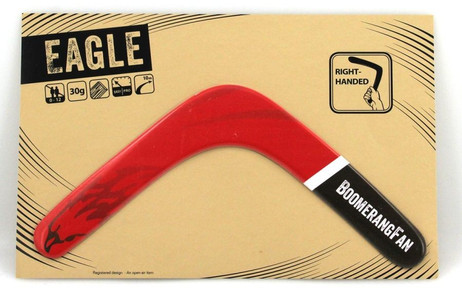 Boomerang EAGLE - 30 gr - two-bladed-Boomerang for right-handers
