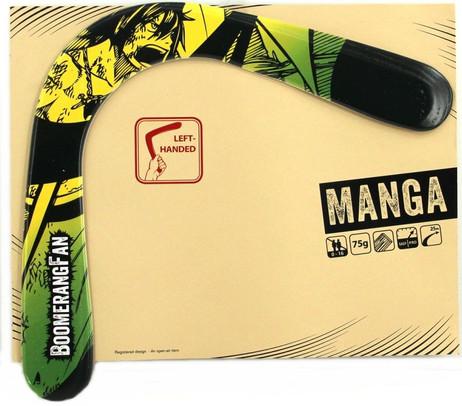 Boomerang MANGA 75 gr - Zweiflügler Bumerang für Linkshänder