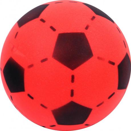 Soft Ball aus Schaumstoff, Schaumstoffball, rot - schwarz