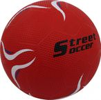 STREET SOCCER Extra red, soccer ball