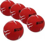 5 pc. STREET SOCCER Extra red, soccer ball