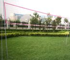 Volleyball and Badminton 2 in 1 Set for big outdoor fun