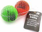 Two Replacement balls for foam Baseball-Kits Mini, Midi, Maxi in meshbag