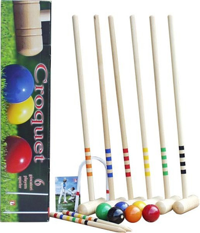 CROQUET JUNIOR - cart for 6 players, Quality made in Italy