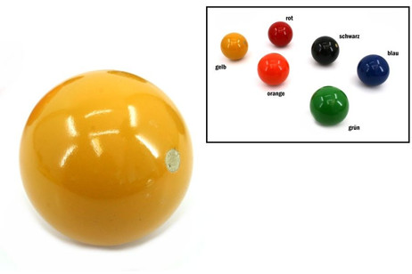Balls for Croquet or Boccia, diameters approx.. 80 mm, weight approx.. 280 g