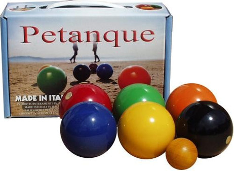 BOULE / PETANQUE Play from wood, Qualität Made in Italy