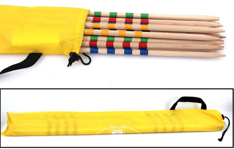 GIANT MIKADO game from wood with bag, quality larva in Italy
