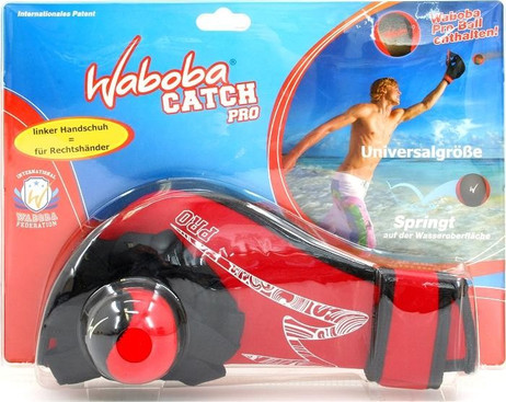 Waboba Pro and glove for catching