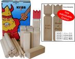 KUBB the Swedish trend game with engraving, quality Made in Italy Image 1