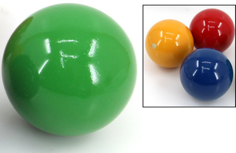 Balls for Croquet or Boccia, diameters approx.. 100 mm, weight approx.. 540 g