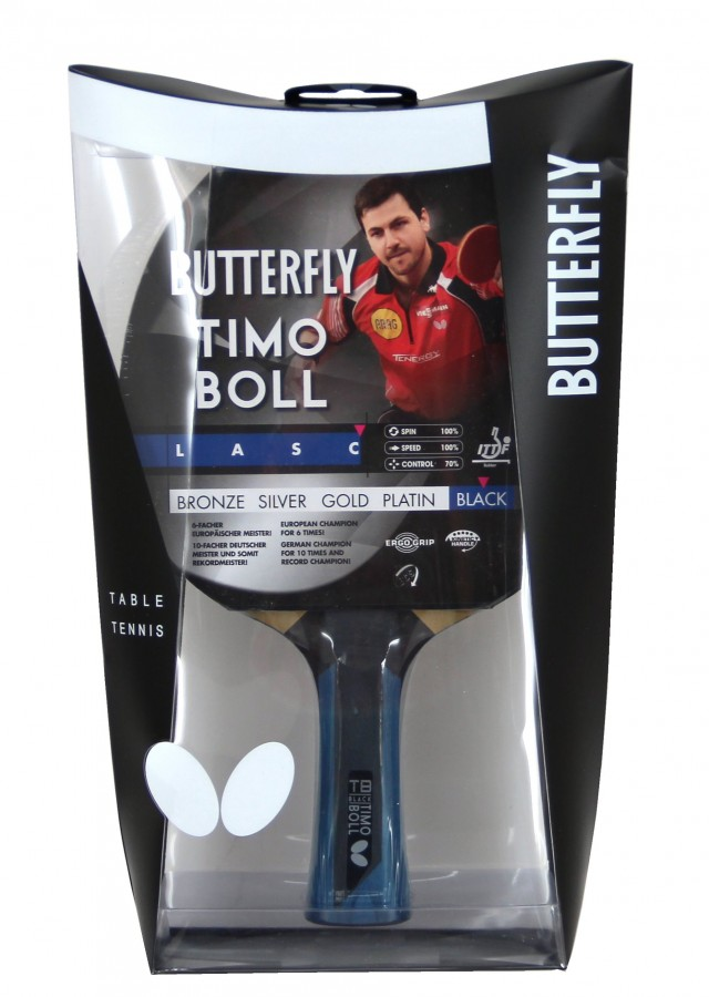 TIMO BOLL BUTTERFLY Platimum Wakaba TABLE TENNIS BAT Paddle