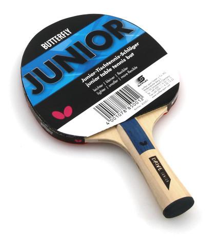 JUNIOR Edition, hochwertiger Tischtennisschläger von Butterfly