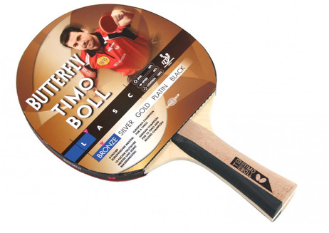 Timo Boll Bronze - Edition, Table-Tennis-Bat from Butterfly