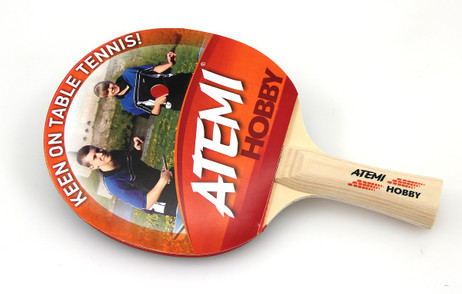Tabletennis Bat Atemi HOBBY glad/glad concave
