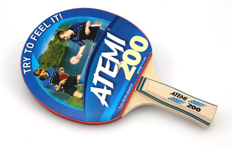 Atemi 200 Tischtennisschläger, Tischtennis Schläger für Hobby Spieler