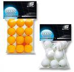 Tischtennisbälle Sunflex Hobby, 12er Packung