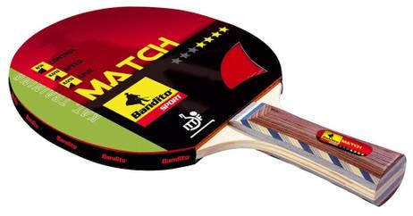 Tischtennisschläger Match 4-Star, der Trainings - Schläger von Bandito