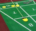 Shuffleboard Euro Court Set, komplettes Spiel
