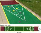 Shuffleboard DeLuxe Court, without Equipment
