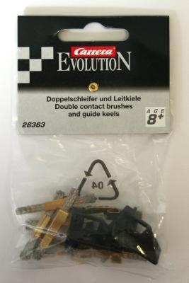 Leitkiele (2 Stück) und Doppelschleifer (8 Stück) 26363 EVOLUTION 2005