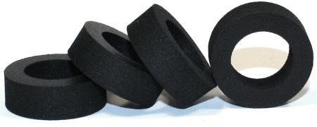 Foam rubber tire FONTS Moosgummi for front, Sigma, hard (4 pieces)