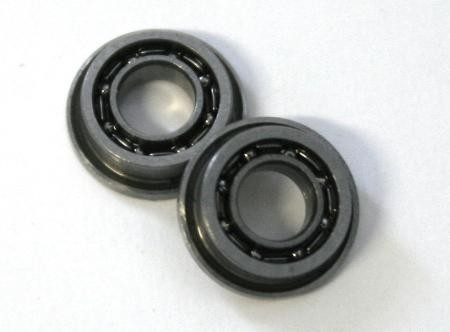 Axle ball bearing PRO Abec 5, open, 6 mm, for axles 3 mm for Slotcar (2 pieces)
