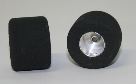 Foam rubber Completely wheels ProComp for axle 3/32(diameter 2,38mm), Scaleauto (2 pieces)