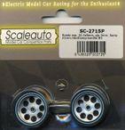 Moosgummi Räder HardComp F21 26,5x8 (2Stück) SC2715P
