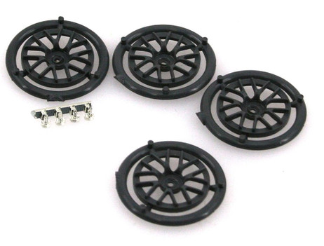 Rim bit spokes BBS LMP/GT grey 19,85 mm (4 pcs.) for Slotcar