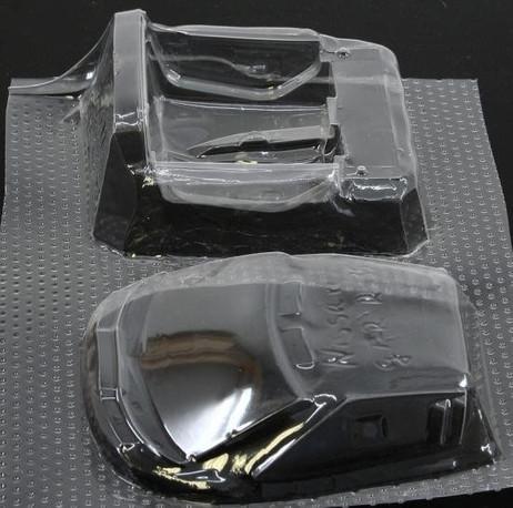 Lexan Satz Nissan GT-R R35 (Tamiya) für 1/24 Slotcar